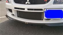 ランサーエボリューションワゴン_MRRALLIART スポーツフロントアンダーカーボンスポイラーの単体画像