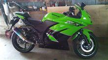 Ninja250RRealize Racing Aria Titan TypeCの全体画像