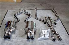 M3カブリオレiPE / Innotech performance exhaust iPE 可変バルブ マフラーの単体画像