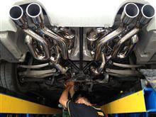 M3カブリオレDUALoop Formula Loop Exhaustの全体画像
