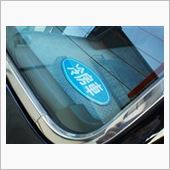 昭和な 「冷房車」ステッカー