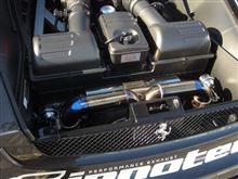 F430 BerlinettaiPE / Innotech performance exhaust iPE 可変バルブ マフラーの全体画像