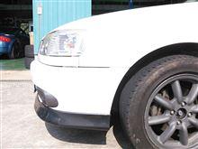 カローラトヨタ自動車株式会社 フロントスポイラー(販売店オプション)の全体画像