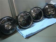 5シリーズ セダンBMW(純正) 【自作】ブラックヘッドライトレンズの単体画像