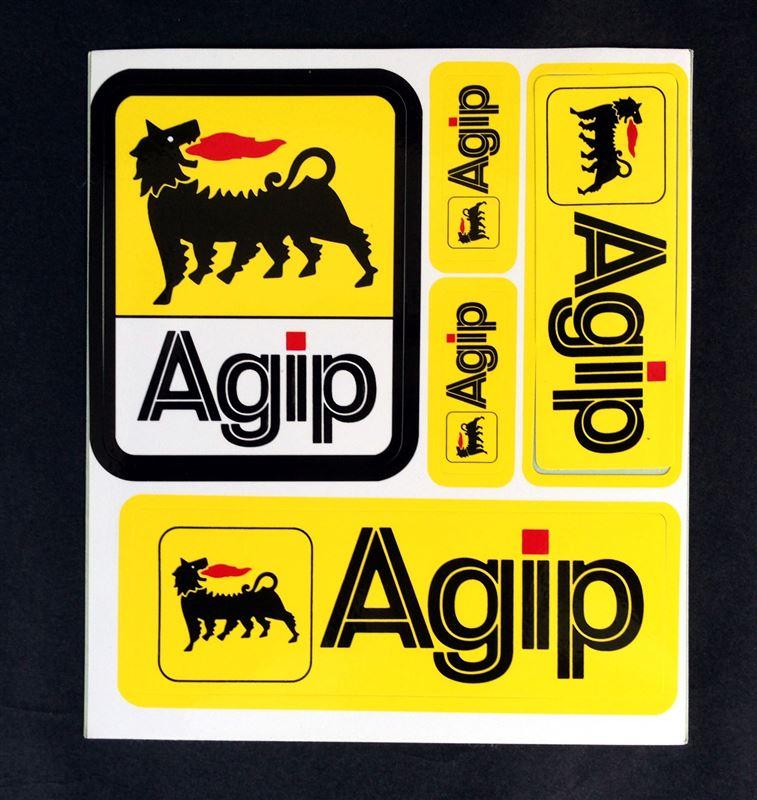 不明 AGIP(アジップ)ステッカ...