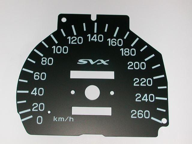 スバル(純正)品を改造して、供給元として製造 ML260Km/hメーター改良タイプ