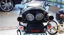 GSR400GPR(イタリア) マフラーの全体画像
