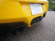458イタリアフェラーリ(純正) ブラックテールパイプの単体画像