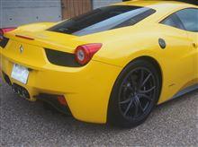 458イタリアフェラーリ(純正) ブラックテールパイプの全体画像