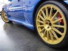 インプレッサ WRX STIL'aunsport WRC CUSTOM ワークスタイプ鍛造アルミホイールの単体画像