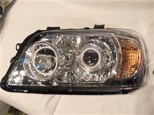 クルーガーハイブリッドイーグルアイ USヘッドライトプロジェクター、イカリング、ブルーアイ加工の単体画像