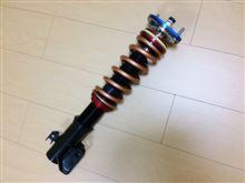 ブーンLARGUS(ラルグス) フルタップ式車高調(フロント)の単体画像