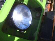 UAZ-469CREE LEDヘッドライトの全体画像