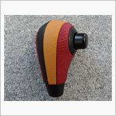 Leather Custom FIRST R1用純正ベースカスタムATノブ