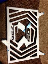 GSR750Motor-stainless ラジエーター カードの全体画像
