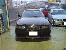 3シリーズ クーペcarbon_house77 BMW E36 M3 Mバンパー用 カーボン フロントリップスポイラーの全体画像