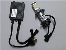 KLX125CREE 25w LEDヘッドライトの単体画像