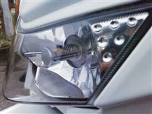KLX125CREE 25w LEDヘッドライトの全体画像