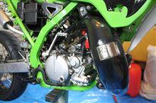 KDX125SRラフ&ロード RSVチャンバー&サイレンサーの全体画像