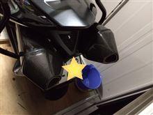 B-KINGLASER EXHAUST カーボンマフラーの単体画像
