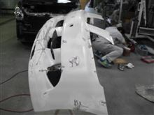 クラウンロイヤルJOB design Hybrid Hybrid フロントバンパーの単体画像