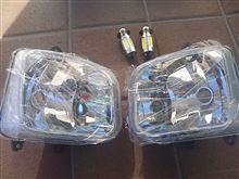 ジャイロキャノピーメーカー・ブランド不明 某オク落札品 レンズユニットLEDバルブ付きの単体画像