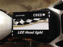 1199CREE LEDヘッドライトの単体画像