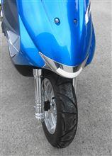 アドレスV125GDAYTONA(バイク) ノーズリップ(メッキ)の全体画像