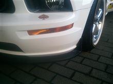 マスタング コンバーチブルUrethane GT500 Style Chin Spoiler Lipの全体画像