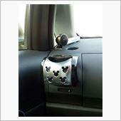 NAPOLEX Disney character car goods collection WD-171 メタルACホルダー <ミッキー>