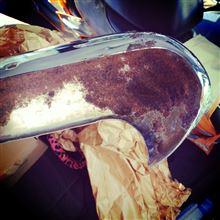 スカイラインワゴン日産(純正) バンパーの全体画像