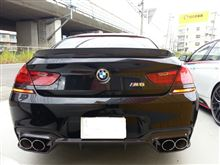 M6 グランクーペ3D Design カーボンウイングの単体画像
