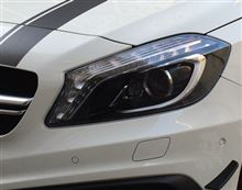 A45 AMG 4マチックエディション1AMG(純正) ヘッドライトインナーペイント加工の単体画像