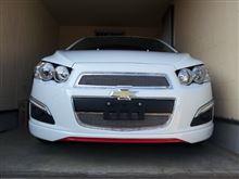 ソニックT-REX 2012 Chevrolet Sonic Upper Class Mesh Grilleの全体画像