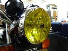 CBX400Fマーシャル ジャパン 722/702STARLUX ドライビングランプの単体画像
