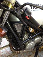 R1-Z自作 アルミパンチングシートの単体画像