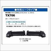 CAR MATE / カーメイト INNO DUAL ANGLE TX706