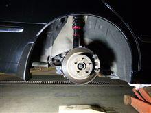 プレジデントLARGUS フルタップ式車高調の単体画像