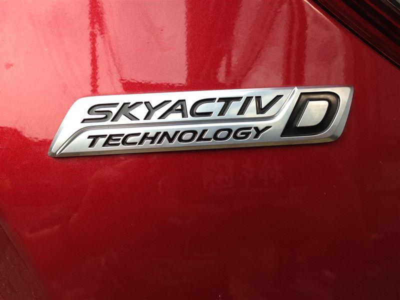 マツダ(純正) オーナメント SKYACTIV-D