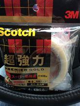 Scotch 超強力両面テープ プレミアゴールド