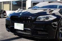 M5BMW(純正) BMW M Performance ブラックキドニーグリルの単体画像
