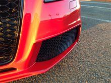 A3ショップオリジナル RS3タイプフロントバンパーの全体画像