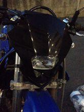 KDX125SR不明 EUヘッドライト付きカウルの単体画像