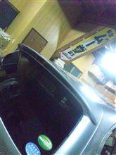 ミライースダイハツ純正 バックドアスポイラーの単体画像
