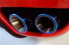F430 BerlinettaPower Craft ハイブリッドエキゾーストマフラーシステムの単体画像