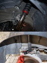アクセラセダンLARGUS フルタップ式車高調の単体画像