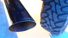 タコマGibson Stainless Cat-Back Performance Exhaust Systemの単体画像