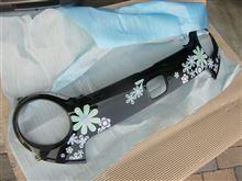その他ホンダ純正オプション 花柄フロントグリルデカール(スウィート ナチュラル)の単体画像