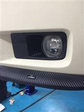 マグナムLX-Performance フロントリップスポイラーの単体画像