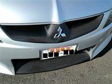 グランディスダムド スタイルエフェクトカーボングリルの全体画像